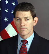 Official photo of Henry A. Crumpton, Coordinator for Counterterrorism