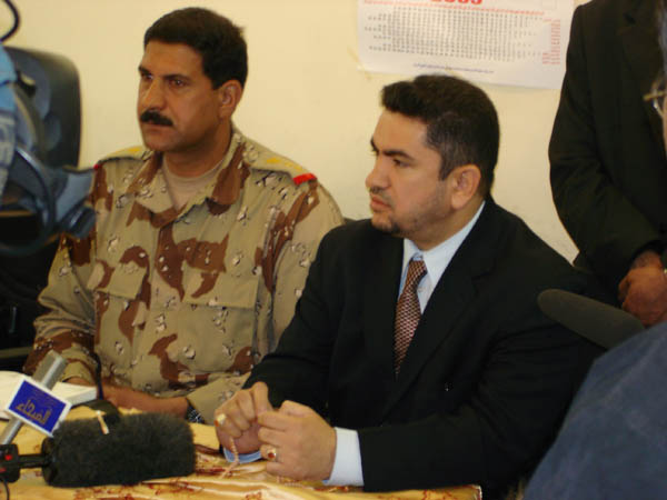 Preparing for Iraqi Elections: Najaf Governor
