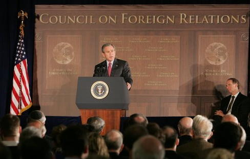 President Bush Council on Foreign Relations