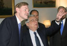 During his 14-stop visit to European capitals, Deputy Secretary Zoellick met with Greek Foreign Minister Petros Moliviatis in Athens on Thursday, March 31, 2005.