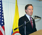 Under Secretary of State Nicholas Burns Press Availability in Colombia