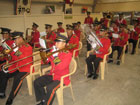 The Korean Army Band from Camp Zaytun played at the opening of the Erbil RRT. [Photo by Susan Phalen, Department of State]