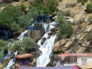 Soran Water Project in Erbil. Water is Collected at its source in the Bekhal Mountains. [July 25, 2007]
