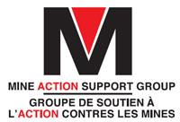 The Mine Action Support Group ,MASG, logo