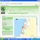 Screenshot of the www.LebanonMaps.net
