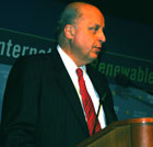 Deputy Secretary of State John D. Negroponte delivers opening remarks entitled The Challenge and Charge to the Attendees at WIREC 2008.