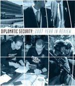 Cover of 2007 Diplomatic Security Year In Review.