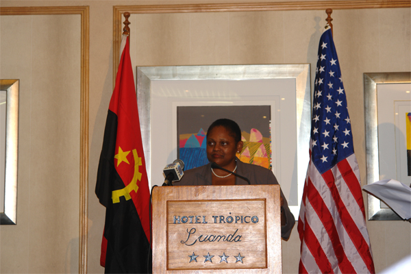 Assistant Secretary Frazer Addresses Angolan and American Business Leaders in Luanda.