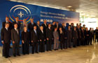 June 3, 2003, Madrid Spain: Family Portrait of the North Atlantic Council ,NAC, with Invitees. Photo Courtesy of NATO