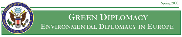Newsletter Banner:  Green Diplomacy--Environmental Diplomacy in Europe
