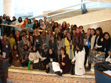 Conference of Women Leaders in Science, Technology, and Engineering participants group [State Dept. Photo]