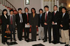 Secretary Rice attends Roundtable with Japanese Press