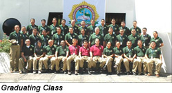 International Law Enforcement Academy, San Salvador, El Salvador - Graduating Class
