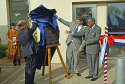 Dedication of the new U.S. Embassy in Lome, Togo on April 3rd, 2007.  State Department photo.