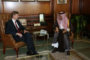 Date: 10/22/2008 Location: Saudi Arabia Description: Assistant Secretary Brian Hook met with Saudi Foreign Minister Prince Saud Al-Faisal on October 22, 2008. State Dept Photo