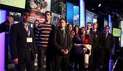 Date: 12/01/2008 Description: Youth gather at the MTV event. [State Dept Photo]